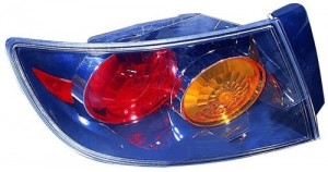 2004 - 2006 Mazda 3 Rear Tail Light Assembly Replacement / Lens / Cover - Left (Driver) Side - (4 Door; Sedan)