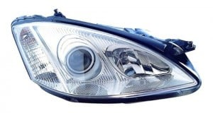 2007 2013 mercedes benz s550 front headlight right for Mercedes benz headlight lens
