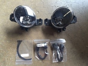 2016 - 2018 Nissan Altima  Fog Light Cover - Right (Passenger) Replacement