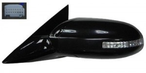 2009 -  2014 Nissan Maxima Side View Mirror Assembly / Cover / Glass Replacement - Left (Driver) Side