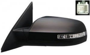 2007 -  2011 Nissan Altima Side View Mirror Assembly / Cover / Glass Replacement - Left (Driver) Side - (2.5L L4 Sedan)