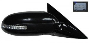 2009 -  2011 Nissan Maxima Side View Mirror - Right (Passenger) Side
