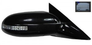 2009 -  2014 Nissan Maxima Side View Mirror Assembly / Cover / Glass Replacement - Right (Passenger) Side - (SV 3.5L V6)
