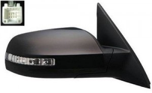 2007 -  2011 Nissan Altima Side View Mirror Assembly / Cover / Glass Replacement - Right (Passenger) Side - (2.5L L4 Sedan)