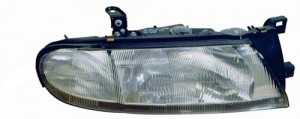 1993 -  1997 Nissan Altima Front Headlight Assembly Replacement Housing / Lens / Cover - Left (Driver) Side - (GLE + GLE-E + SE)