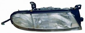 1993 -  1997 Nissan Altima Front Headlight Assembly Replacement Housing / Lens / Cover - Left (Driver) Side - (GXE + XE)