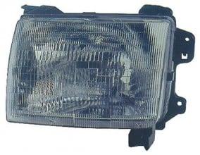 2000 2001 nissan xterra front headlight left driver. Black Bedroom Furniture Sets. Home Design Ideas