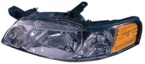 2000 -  2001 Nissan Altima Front Headlight Assembly Replacement Housing / Lens / Cover - Left (Driver) Side