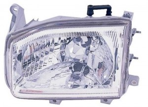 1999 -  2003 Nissan Pathfinder Front Headlight Assembly Replacement Housing / Lens / Cover - Left (Driver) Side
