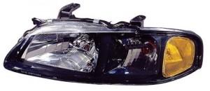 2002 - 2003 Nissan Sentra Front Headlight Assembly Replacement Housing / Lens / Cover - Left (Driver) Side - (SE-R + SE-R Spec V)