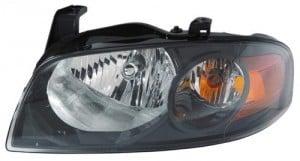 2004 - 2006 Nissan Sentra Front Headlight Assembly Replacement Housing / Lens / Cover - Left (Driver) Side - (SE-R + SE-R Spec V)