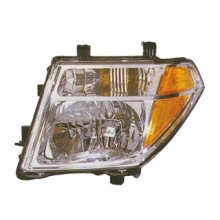 2005 - 2008 Nissan Frontier Front Headlight Assembly Replacement Housing / Lens / Cover - Left (Driver) Side