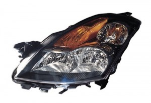 2007 - 2007 Nissan Altima Front Headlight Assembly Replacement Housing / Lens / Cover - Left (Driver) Side - (Sedan)