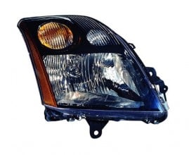 2007 - 2009 Nissan Sentra Front Headlight Assembly Replacement Housing / Lens / Cover - Left (Driver) Side - (2.5L L4)