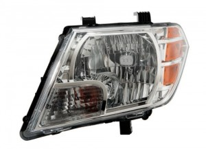 2009 - 2018 Nissan Frontier Front Headlight Assembly Replacement Housing / Lens / Cover - Left (Driver) Side