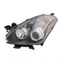 2010 -  2013 Nissan Altima Front Headlight Assembly Replacement Housing / Lens / Cover - Left (Driver) Side - (Coupe)