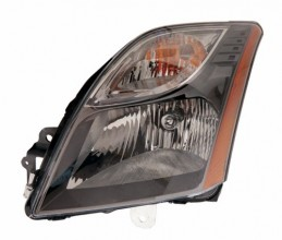 2010 - 2012 Nissan Sentra Front Headlight Assembly Replacement Housing / Lens / Cover - Left (Driver) Side - (2.5L L4 + SR 2.0L L4)