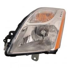 2010 - 2012 Nissan Sentra Front Headlight Assembly Replacement Housing / Lens / Cover - Left (Driver) Side - (Base Model 2.0L L4 + S 2.0L L4 + SL 2.0L L4)
