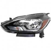 2016 - 2017 Nissan Sentra Headlight Assembly - Left (Driver)