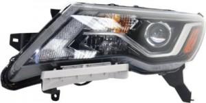 2017 - 2018 Nissan Pathfinder Headlight Assembly - Left (Driver)