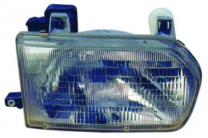 1996 -  1999 Nissan Pathfinder Front Headlight Assembly Replacement Housing / Lens / Cover - Right (Passenger) Side