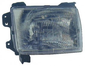 2000 2001 nissan xterra front headlight right. Black Bedroom Furniture Sets. Home Design Ideas