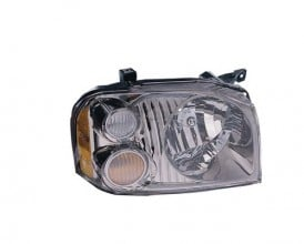2001 - 2004 Nissan Frontier Front Headlight Assembly Replacement Housing / Lens / Cover - Right (Passenger) Side - (SC + SE)