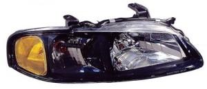 2002 - 2003 Nissan Sentra Front Headlight Assembly Replacement Housing / Lens / Cover - Right (Passenger) Side - (SE-R + SE-R Spec V)