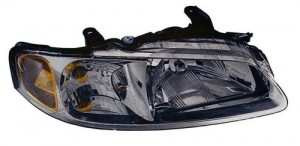 2002 - 2003 Nissan Sentra Front Headlight Assembly Replacement Housing / Lens / Cover - Right (Passenger) Side - (CA + GXE + GXE Sport + Limited Edition + XE)