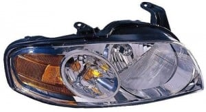 2004 - 2006 Nissan Sentra Front Headlight Assembly Replacement Housing / Lens / Cover - Right (Passenger) Side - (Base Model + S)