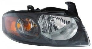 2004 - 2006 Nissan Sentra Front Headlight Assembly Replacement Housing / Lens / Cover - Right (Passenger) Side - (SE-R + SE-R Spec V)