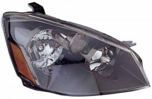 2005 -  2006 Nissan Altima Front Headlight Assembly Replacement Housing / Lens / Cover - Right (Passenger) Side