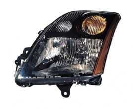 2007 - 2009 Nissan Sentra Front Headlight Assembly Replacement Housing / Lens / Cover - Right (Passenger) Side - (2.5L L4)