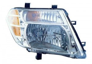 2008 -  2012 Nissan Pathfinder Front Headlight Assembly Replacement Housing / Lens / Cover - Right (Passenger) Side