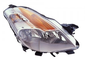 2008 -  2009 Nissan Altima Headlight Assembly - Right (Passenger) Side - (Coupe)