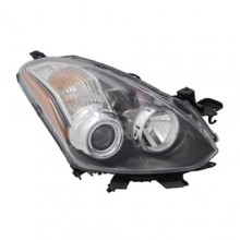 2010 - 2013 Nissan Altima Front Headlight Assembly Replacement Housing / Lens / Cover - Right (Passenger) Side - (Coupe)
