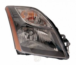 2010 - 2012 Nissan Sentra Front Headlight Assembly Replacement Housing / Lens / Cover - Right (Passenger) Side - (2.5L L4 + SR 2.0L L4)