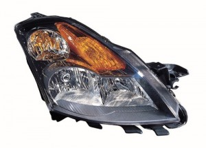 2008 -  2009 Nissan Altima Front Headlight Assembly Replacement Housing / Lens / Cover - Right (Passenger) Side - (Sedan)