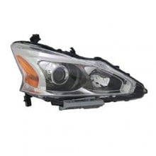2013 -  2015 Nissan Altima Front Headlight Assembly Replacement Housing / Lens / Cover - Right (Passenger) Side - (Sedan)