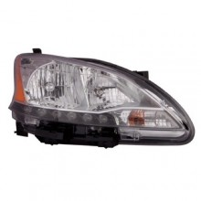 2013 - 2015 Nissan Sentra Front Headlight Assembly Replacement Housing / Lens / Cover - Right (Passenger) Side