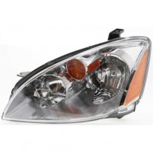 2002 -  2004 Nissan Altima Front Headlight Assembly Replacement Housing / Lens / Cover - Left (Driver) Side
