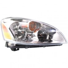 2002 - 2004 Nissan Altima Front Headlight Assembly Replacement Housing / Lens / Cover - Right (Passenger) Side