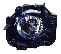 2007 - 2012 Nissan Altima Fog Light Assembly Replacement Housing / Lens / Cover - Left (Driver) Side - (Gas Hybrid + Sedan)
