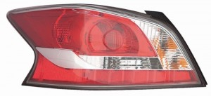 2014 -  2015 Nissan Altima Rear Tail Light Assembly Replacement / Lens / Cover - Left (Driver) Side
