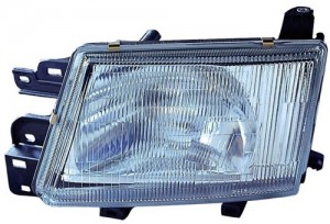 1999 - 2000 Subaru Forester Front Headlight Assembly Replacement Housing / Lens / Cover - Left (Driver) Side