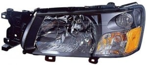 2003 -  2004 Subaru Forester Front Headlight Assembly Replacement Housing / Lens / Cover - Left (Driver) Side