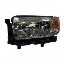 2006 -  2008 Subaru Forester Front Headlight Assembly Replacement Housing / Lens / Cover - Left (Driver) Side - (2.5 X + 2.5 XS + 2.5 XS Premium + 2.5 XT + Anniversary Edition + X + X L.L. Bean Edition + XT Limited)