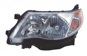 2009 - 2013 Subaru Forester Front Headlight Assembly Replacement Housing / Lens / Cover - Left (Driver) Side