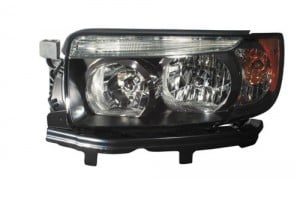 2007 -  2008 Subaru Forester Front Headlight Assembly Replacement Housing / Lens / Cover - Left (Driver) Side - (Sports 2.5 X + Sports 2.5 XT)
