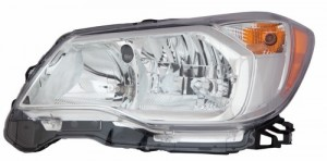 2014 -  2016 Subaru Forester Front Headlight Assembly Replacement Housing / Lens / Cover - Left (Driver) Side - (2.5L H4)